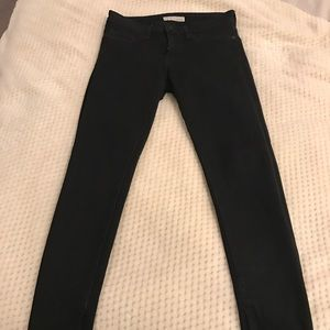 Joie Black zipped Super Skinny Jeans